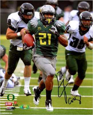LaMichael James signed Oregon Ducks 8X10 Photo- Tri-Star Hologram