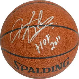 Dennis Rodman signed Indoor/Outdoor Basketball HOF 2011