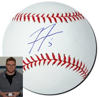 Freddie Freeman signed Rawlings Official Major League Baseball #5 (Atlanta Braves)