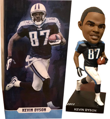 Kevin Dyson Bobblehead 2017 Tennessee Titans Season Ticket Holders Gift