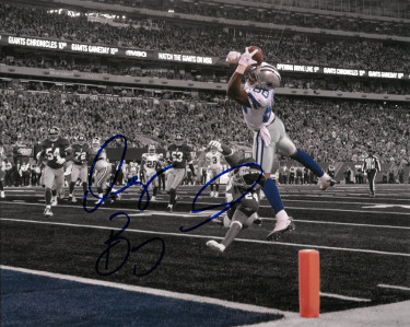 Dez Bryant signed Dallas Cowboys 8X10 Photo (spotlight vs Giants)- PSA/JSA/BAS Guaranteed To Pass