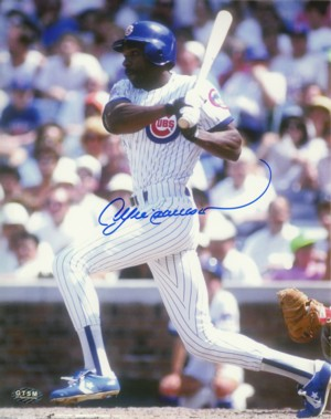 Andre Dawson signed Chicago Cubs 8x10 Photo
