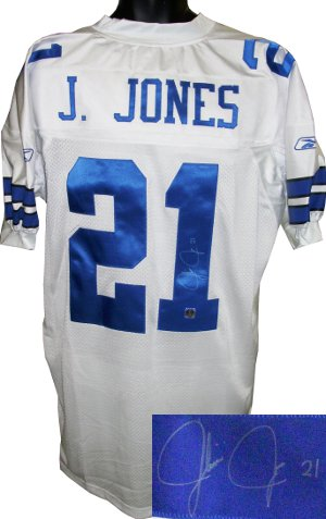 new concept 45475 2267f Athlon Sports Julius Jones signed Dallas Cowboys Reebok ...
