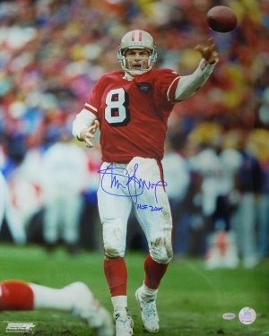Steve Young signed San Francisco 49ers 16x20 Photo HOF2005