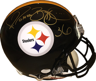 Jerome Bettis signed Pittsburgh Steelers Riddell Full Size Proline Helmet #36- PSA/JSA/BAS Guaranteed To Pass