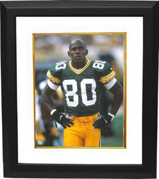 Donald Driver unsigned Green Bay Packers 8x10 Photo Custom Framed