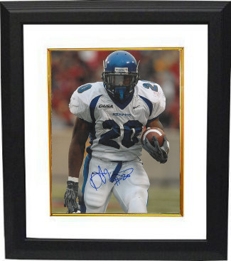 Deangelo Williams signed Memphis Tigers 16X20 Photo Custom Framed