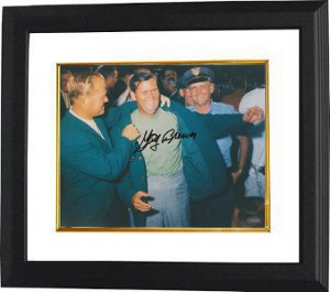 Gay Brewer signed 8x10 Photo Custom Framed- Mounted Hologram
