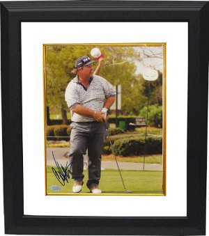 Craig Stadler signed 8x10 Photo Custom Framed- Mounted Hologram