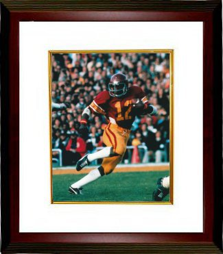 Charles White unsigned USC Trojans 8x10 Photo Custom Framed