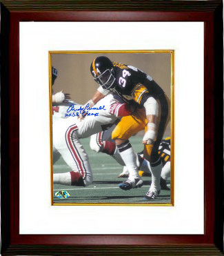 b07506a306c $139.00 · Andy Russell signed Pittsburgh Steelers 8x10 Photo Custom Framed  2X SB Champs (Super Bowl)