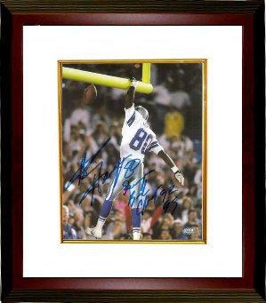 8dc689a2630 Alvin Harper signed Dallas Cowboys 8x10 Photo Custom Framed Super Bowl  Champs 92 93