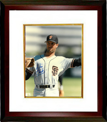 Will Clark signed San Francisco Giants 8x10 Photo Custom Framed (white  jersey-throwing-close up) 7c744b7d3