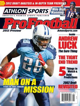 2012 Athlon Sports NFL Pro Football Magazine Preview- Tennessee Titans Cover