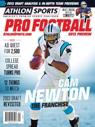 2013 Athlon Sports NFL Pro Football Magazine Preview- Carolina Panthers Cover