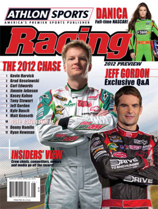 Athlon Sports Racing Edition - 2006 NASCAR Preview - Dale Earnhardt Jr on Cover