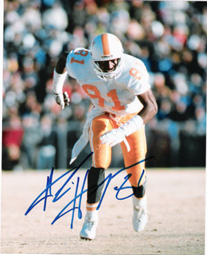 Alvin Harper signed Tennessee Vols 8x10 Photo