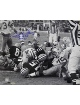 Bart Starr signed Green Bay Packers 16X20 Photo B&W HOF 77 & MVP SB I, II Ice Bowl Sneak- Tri Star Hologram