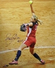 Jennie Finch signed Olympic Team USA 16X20 Photo USA GOLD