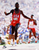 Carl Lewis signed Team USA 16x20 Photo 9 X GM- Tri-Star Hologram