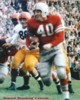 "Howard ""Hopalong"" Cassady unsigned Ohio State Buckeyes 8x10 Photo (Heisman-Red Jersey)"