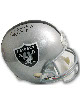 Fred Biletnikoff signed Oakland Raiders Full Size Replica Helmet SB XI MVP- Upper Deck Hologram