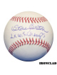 Steve Carlton signed Official Major League 2X W.S. Champs- MLB Hologram