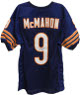 Jim McMahon signed Chicago Bears Navy Prostyle Jersey- PSA Hologram