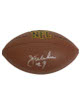 Jim McMahon signed NFL Wilson Rep Football (Chicago Bears)