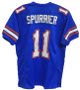 Steve Spurrier signed Florida Gators Blue Custom TB Jersey Heisman 66