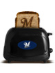 Milwaukee Brewers Logo  MLB ProToast Elite Black Toaster