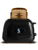Seattle Mariners Logo MLB ProToast Elite Black Toaster