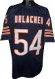 Brian Urlacher unsigned Navy Custom Stitched Pro Style Football Jersey XL