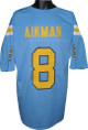 Troy Aikman UCLA Bruins unsigned Blue TB Custom Jersey XL