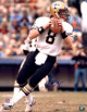Archie Manning signed New Orleans Saints 16x20 Photo (blue signature-white jersey dropback)- Steiner Hologram