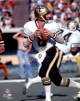 Archie Manning signed New Orleans Saints 16x20 Photo (blue signature-white jersey passing)- Steiner Hologram
