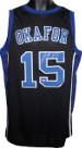 Jahlil Okafor signed Black Custom Stitched Basketball Jersey #15 XL
