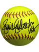 Jennie Finch signed Official 12 inch Yellow Softball USA (Team USA Olympics)