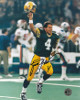 Brett Favre signed Green Bay Packers 8X10 Photo (SB XXXI-The Kid Celebration)- Favre Hologram