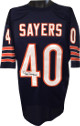 Gale Sayers signed Chicago Bears Navy TB Prostyle Jersey- JSA Hologram
