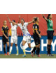 Christen Press signed 8x10 Photo First Goal Team USA vs Australia 2015 World Cup (horizontal-front view)(Women's Soccer Team)
