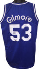 Artis Gilmore signed Blue TB Custom Stitched Basketball Jersey HOF 11 XL- Leaf Hologram