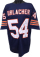 Brian Urlacher signed Chicago Bears Navy Prostyle Jersey-Urlacher Hologram