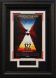 127 Hours signed 22X30 Masterprint Poster Leather Framed w/James Franco (movie/entertainment/photo)