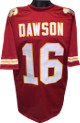 Len Dawson Kansas City Chiefs unsigned Red TB Prostyle Jersey XL