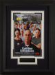 Curb Your Enthusiasm signed 22X30 Masterprint Poster Custom Black Framed w/ Larry David (faces) (tv/entertainment/photo)