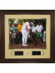 Bubba Watson unsigned 2012 Masters Engraved Signature Series 22x30 Leather Framed Photo