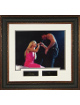 Faith Hill unsigned 11x14 Photo Engraved Signature Series Leather Framed w/ McGraw (movie/entertainment)