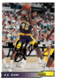AC Green signed Los Angeles Lakers 1992-93 Upper Deck Basketball Trading Card #195