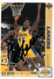 AC Green signed Los Angeles Lakers 1991-92 Upper Deck Basketball Trading Card #177
